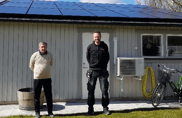 Thomas Lövgren och Jonas Thomson, Slite EL